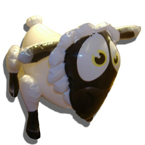 Lady Bah Bah - Celebrity Inflatable/Blow Up Sheep Gag Gift