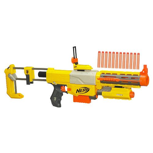 N Strike Recon Cs Nerf Rifle 6 Dart Blaster With Bonus Darts
