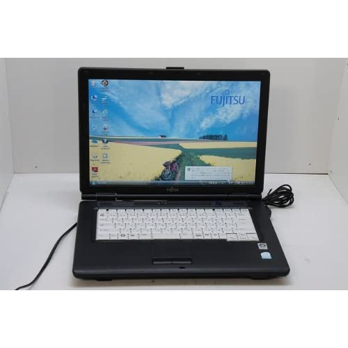 中古ノートパソコン 富士通 【FMV-A8270】Intel Celeron 575 2.00GHz 80GB 2GB DVDコンボ 15.4w Windows Vista Business