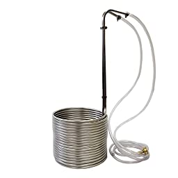 NY Brew Supply Stainless Steel Wort Chiller, 3/8\