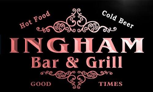 u21580-r-ingham-family-name-bar-grill-home-beer-food-neon-sign-barlicht-neonlicht-lichtwerbung