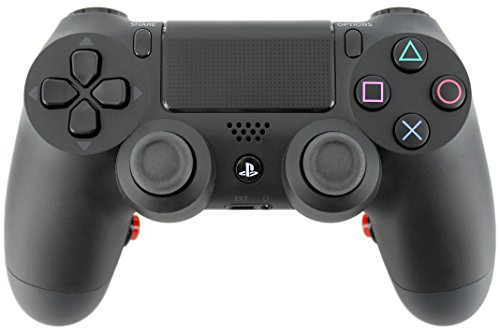 """Black Soft Touch"" Ps4 Custom Button Remapped Controller For Pro-Gaming"