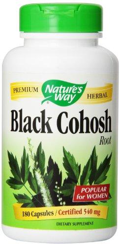 Nature's Way Black Cohosh Root, 540 mg,180 Capsule
