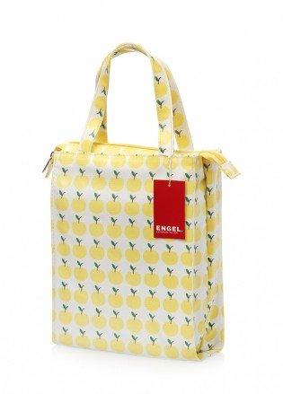 Engel, Borsetta Yellow Apple in cotone impermeabilizzato, misure 26 x 20 x 9 cm