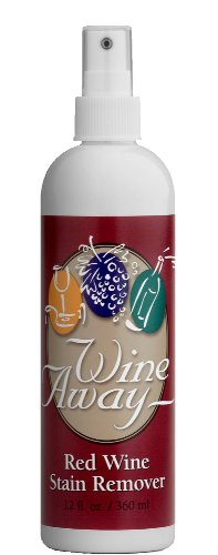Wine Away Stain Remover in Plastic Canister, 12fl.oz