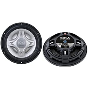 Boss Nx10fd 10 1400w Car Audio Shallow Mount Subwoofer Sub 1400 Watt