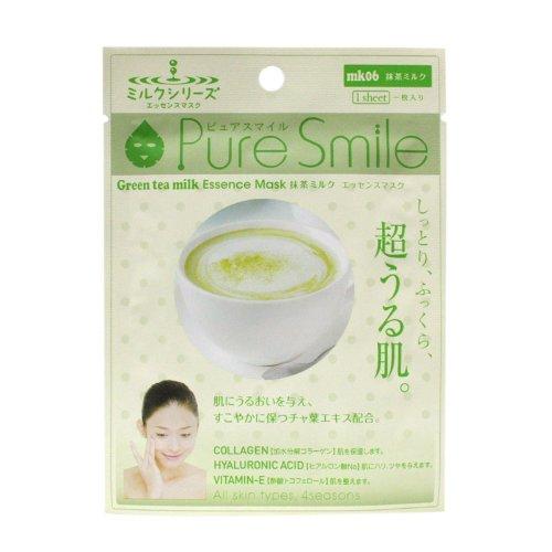 ピュアスマイルエッセンスマスクミルクシリーズ 抹茶ミルク100枚セット