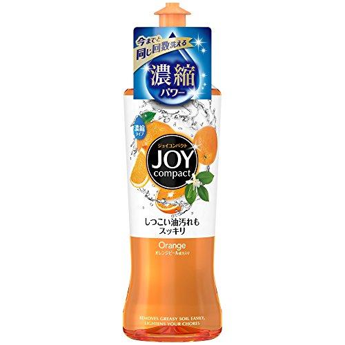 ジョイ コンパクト 食器用洗剤 オレンジピール成分入り 本体 200ml