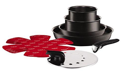 Tefal L6548802 Set de poêles et casseroles - Ingenio 5 Performance Noir 10 Pièces - Tous feux dont induction