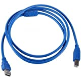 Usb Cable 2.0 A Male To B Male Printer Cable Scanner Cable 1.5m / Printer Cable 2.0 USB Cable (Assorted Colours...