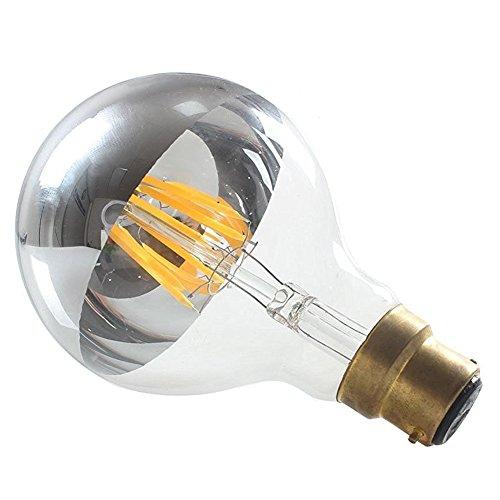 luxon-6w-g80-led-crown-mirror-silver-bulbs-b22-bayonet-cap-half-chrome-soft-white-2700k-non-dimmable