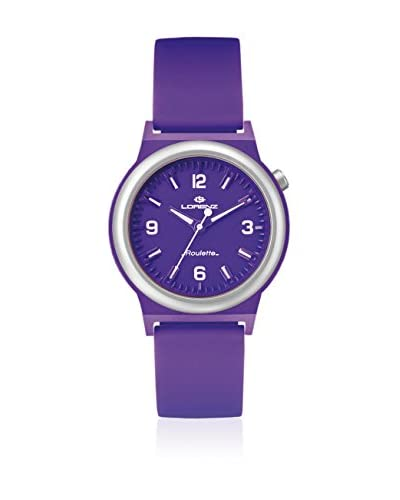 Lorenz Reloj de cuarzo 026955EE Morado 40 mm