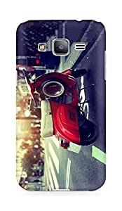 Amez designer printed 3d premium high quality back case cover for Samsung Galaxy J2 (Scooter)