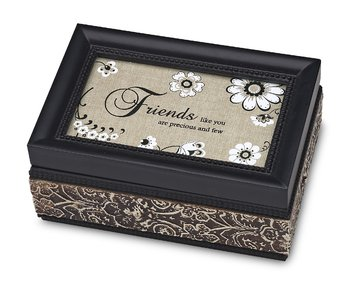 Modeles 4 by 6-Inch Friends Music Box