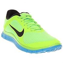 New Nike Free 4.0 V3 Lime/Blue Mens 8.5