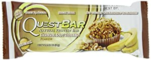 QUEST NUTRITION Quest Natural Protein Bar, Banana Nut Muffin (12 ea)