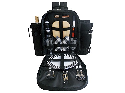 Cheapest Price! Plush Picnic - 2 Person Picnic Backpack