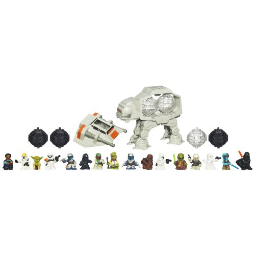 Star Wars Fighter Pods Series I Snowspeeder Vs. AT-AT