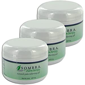 Sombra Warm - Value 3 Pack Sombra Warm Therapy Pain Relieving Gel, All Natural (8 Oz)