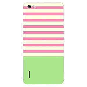 Skin4gadgets Famous Neapolitan Ice Cream Stripes Pattern No.30 Phone Skin for HONOR 6