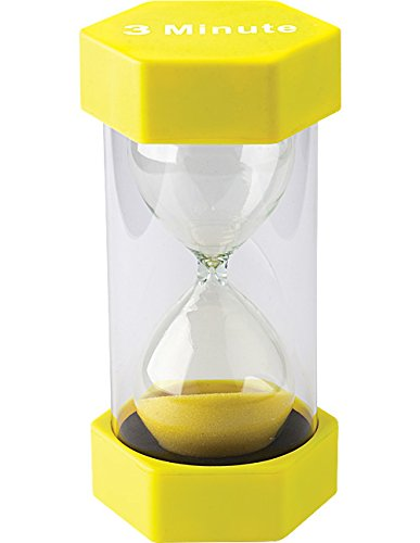 Teacher Created Resources 3 Minute Sand Timer - Large (20659) (Three Minute Sand Timer compare prices)
