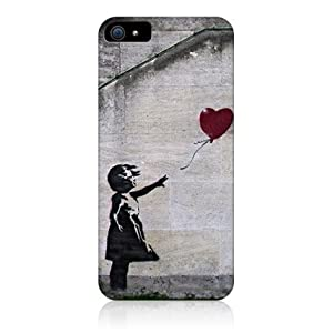 Banksy Balloon Girl Graffiti Protective Glossy Hard Back Case For Apple Iphone 5