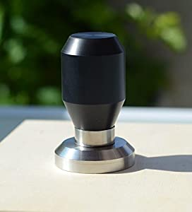 Premium Quality Coffee Espresso Tamper 100% Stainless Steel Base from Maya Italy