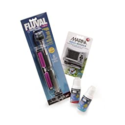 Fluval Electronic Heater and Water Change Package for Aquariums up to 30 gallons