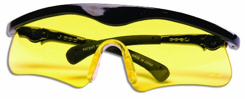 Best Price! Daisy Outdoor Products Shooting Glasses (Black/Yellow, Youth to adult)