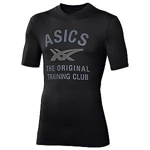 ASICS Performance Manche Courtes Stripes T-Shirt - S