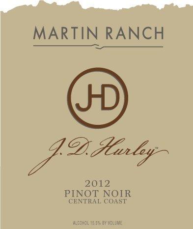 2012 Martin Ranch J.D. Hurley Central Coast Pinot Noir 750 Ml