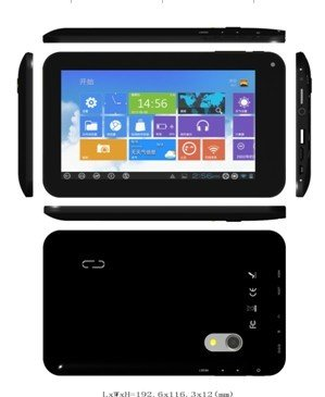 Afunta(tm) 7 Inch Dual Camera Capacitive Screen Android 4.0 VIA 8850