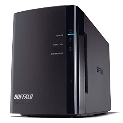Buffalo Technology LinkStation Duo 4 TB (2 x 2 TB) Network Attached Storage LS-WX4.0TL/R1 by BUFFALO
