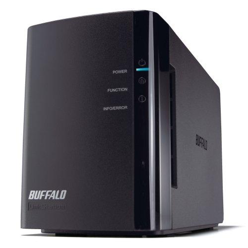 Buffalo Technology LinkStation Duo 2 TB (2 x 1 TB) Network Attached Storage LS-WX2.0TL/R1