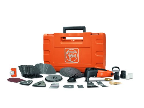 Fein FMM 250Q Top Plus MultiMaster Oscillating Detail Sander Tool Kit