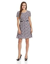 UCB Women's A-Line Dress (16A4CP1V6379I901XS_Multicolored)