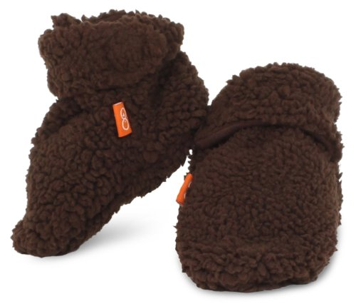 Magnificent Baby Unisex-Baby Infant Mocha Smart Booties, Mocha, 0-6 Months