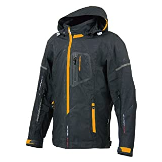 コミネ(Komine) JK-059 Breathter Riding Parka black/orange XL 07-059