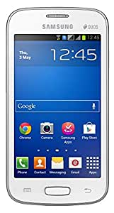 Samsung Galaxy Star Pro GT S7262  White                                   available at Amazon for Rs.4600