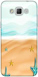 Snoogg abstract summer background Hard Back Case Cover Shield For Samsung Galaxy Grand Max