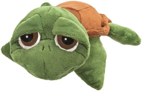 suki-gifts-little-peepers-turtle-rocky-turtle-soft-boa-plush-toy-green-and-brown-small