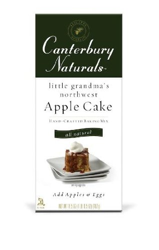 Canterbury Naturals Little Grandma's Northwest Apple Cake Mix (2x16.5oz)