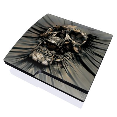 Skull Wrap Design Skin Decal Sticker for the Playstation 3 PS3 SLIM Console