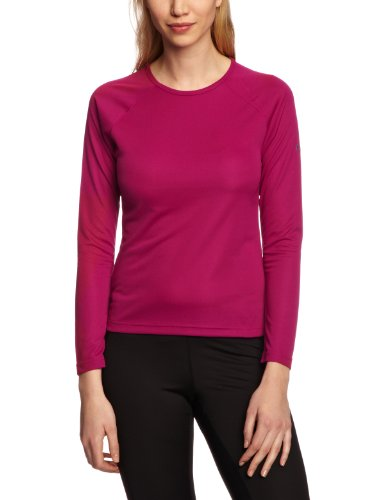 Berghaus Women's Essential Short Sleeve Crew Baselayer - Bright Fuchsia, Size 12