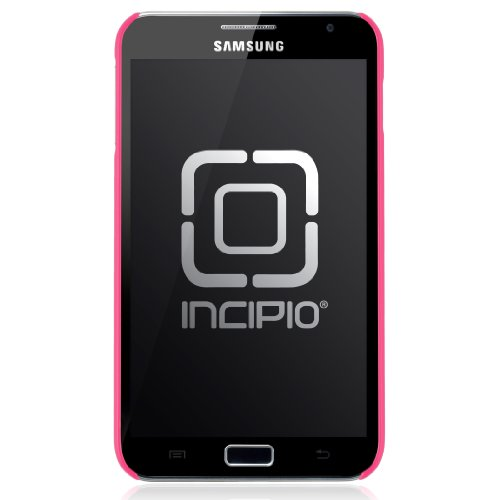 Incipio Samsung Galaxy Note feather Ultralight Hard Shell Case - 1 Pack - Retail Packaging - Neon Pink