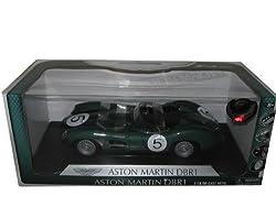 Aston Martin DBR1 #5 Green 1:18 Diecast Car Model