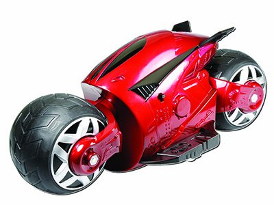 Amewi 22137 - RC Motorrad - Cyber Cycle, 27 MHz, rot
