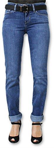 Levi's Donna Jeans 712 Levis Taglio Slim Taglia 262 Blu