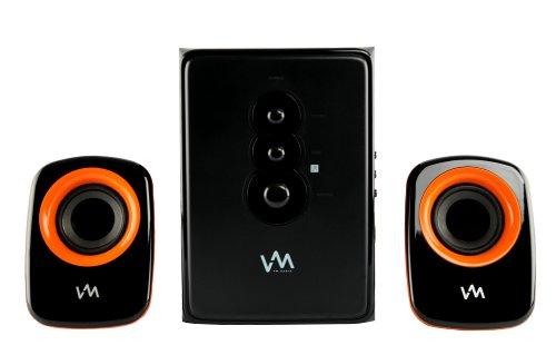 VM Audio EXCS210 2.1 Home/Computer Speakers Multimedia System USB/SD