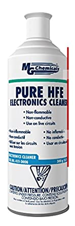 MG Chemicals 411 HFE Pure Electronics Cleaner, 300g (10.5 Oz) Aerosol Can